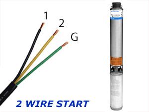 wiring a 2 wire well pump 230 volt 3 wire well pump wiring diagram