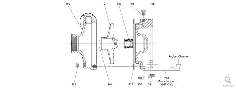 3642 Repair Parts : Locke Well & Pump Company