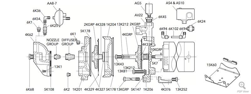 HSJ Repair Parts : Locke Well & Pump Company