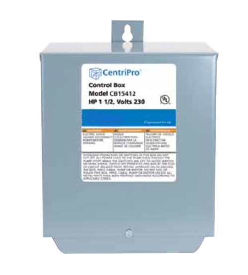pump control boxes locke well pump company cb05412cr goulds pumps centripro control box